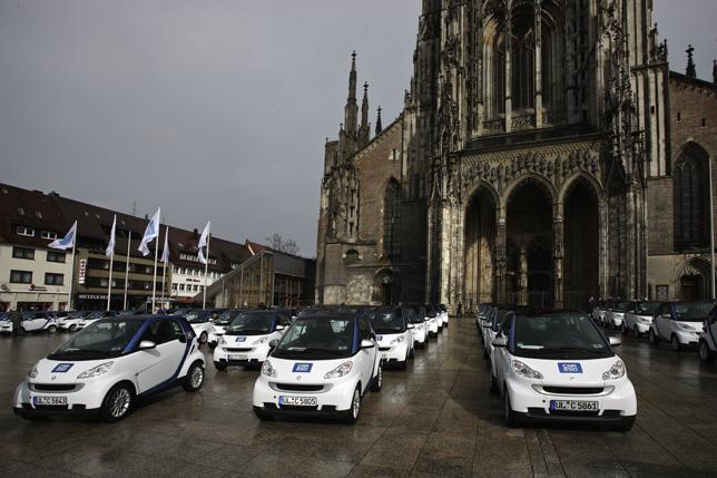 Smart - Car2Go En deux mois,  7000 utilisateurs et 200.000 kms par mois