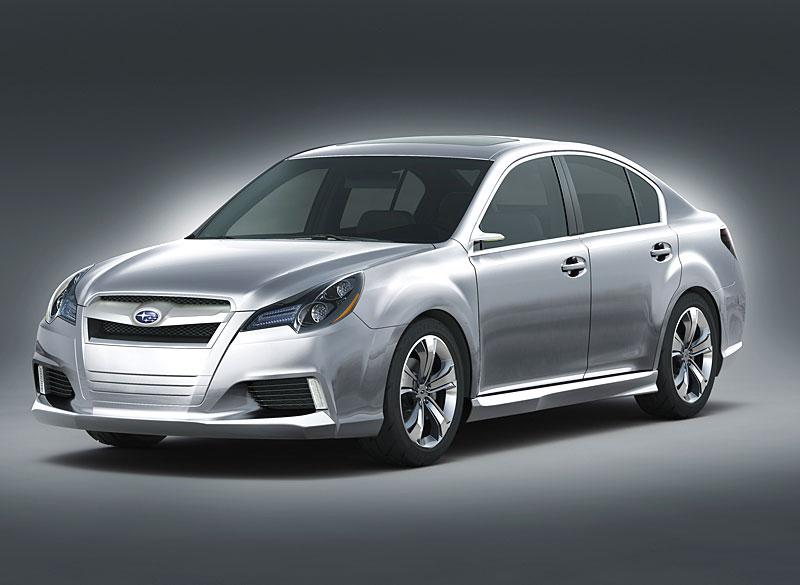 Subaru Legacy Crash-Tests américains