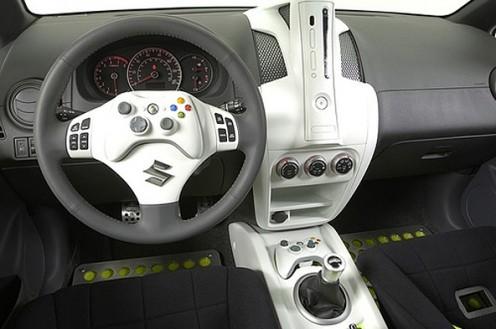 La Suzuki Sxbox : la voiture console de jeu La voiture aux couleurs et services de la Xbox 360