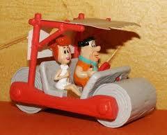 La voiture de la famille Pierrafeu mise en vente !