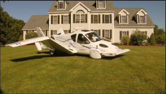 L'autorisation de circuler a été donnée à la toute première voiture volante.