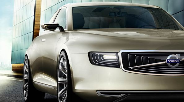 Volvo a profité du Salon de Shanghai 2011 pour dévoiler son concept de grande berline dont l'objecti...