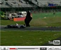 Vidéo de l\'accident spectaculaire de Stephane Ortelli à Monza Seulement une cheville cassée !!!