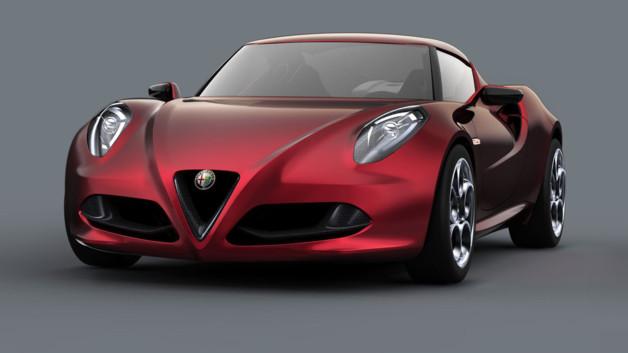 Le Groupe Fiat prévoit le lancement de la nouvelle Alfa Romeo 4c pour la fin de l'année aux Etats-Un...