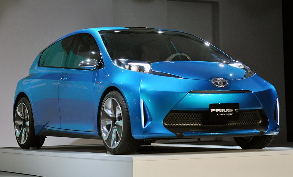 C comme city le ton est donné.  Toyota prévoit de lancer un nouveau modèle d'hybrid la Prius C.
