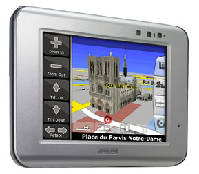 Asus R300 GPS 1,38 cm d'épaisseur et ne pèse que 140g