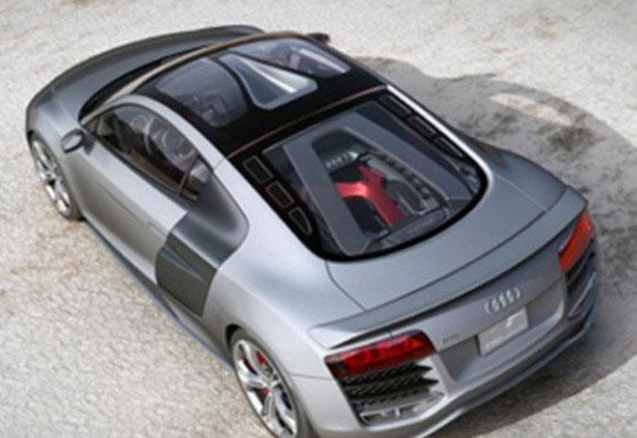 Audi R8 TDI 500 ch 12 cylindres de SUV dans une voiture sportive