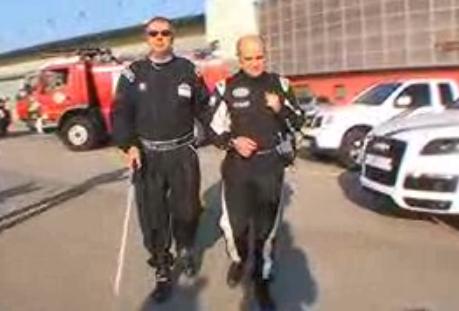 Un aveugle a roulé à 308 km/h à bord d'une Lamborghini Gallardo Record du monde battu !