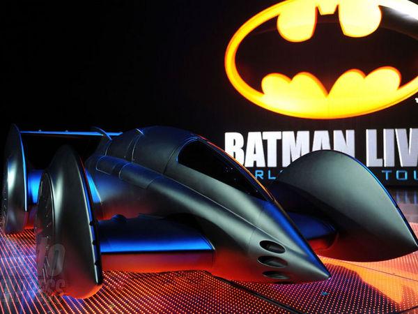 Une version futuriste de la Batmobile par Gordon Murray.