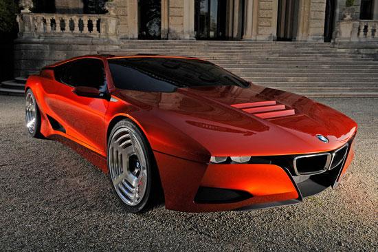 BMW M1 Hommage Concept BMW se présente comme la marque la plus dynamique
