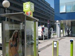 La nouvelle façon de recharger sa voiture électrique,  Utiliser une cabine téléphonique