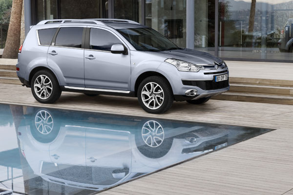 Citroën C-Crosser Un style unique, un tempérament polyvalent