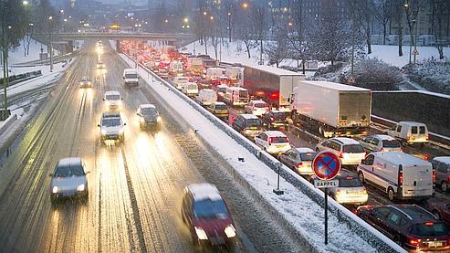 Météo : chutes de neige attendues en Ile-de-France