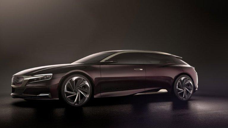 La Numéro 9, le nouveau bijou de Citroën!(Vidéo)