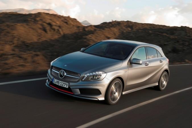 La Mercedes classe A : vers un succès commercial ? (Vidéo)
