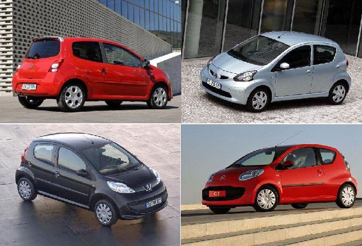Des Twingo II, C1, 107, Aygo, Laquelle choisir ?