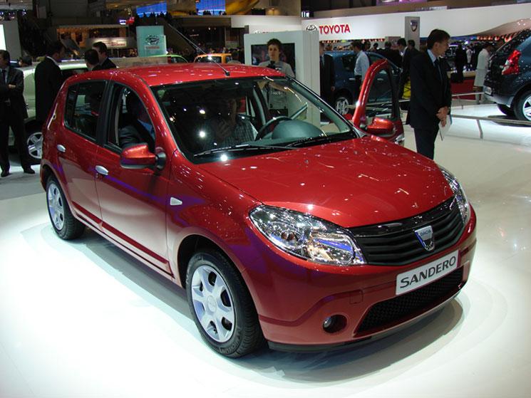 Le constructeur français présente sous la marque roumaine Dacia (prononcez Datchia) la nouvelle cita...