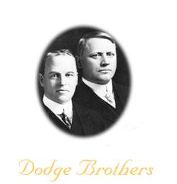 Les Frères DODGE, John et Horace Des Hommes, des constructeurs.