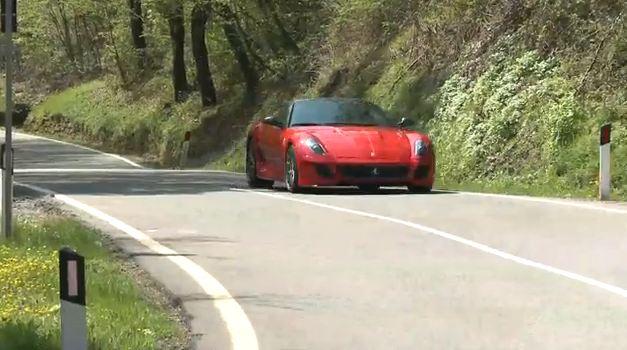 Essai de la Ferrari 599 GTO,(vidéo) Le monstre qui hurle.