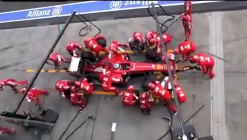 Formule 1: Le temps d'un arrêt au stand diminué d'une minute depuis 1950!(Vidéo)