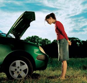 femme-voiture