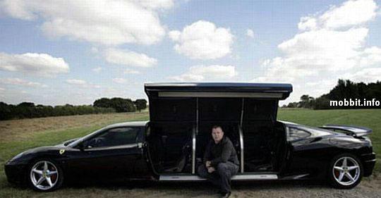La Ferrari limousine En photos et vidéos