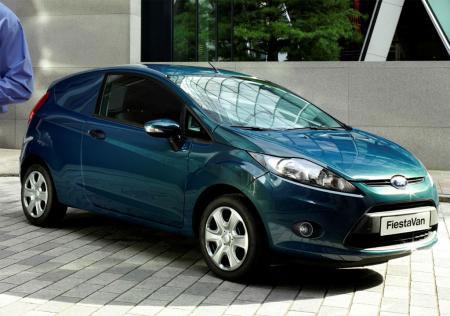 Nouvelle Ford Fiesta Van utilitaire  Fonctionnel et compact