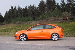 La Focus ST 226 cv se métamorphose rapidement, lors d'usages immodérés, en un redoutable aspirateur ...