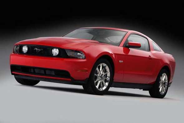 La nouvelle mouture de la Ford Mustang,(Vidéo) La GT 2010 !