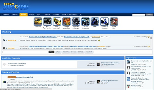 Forum Autocadre: un espace de partage et d'échange d'information !