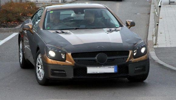Future Mercedes SL (Vidéo)