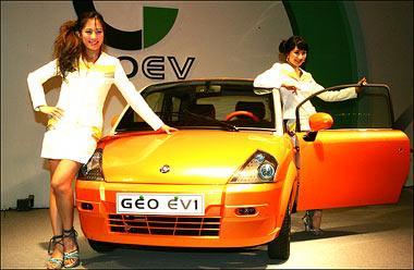 GEO-EV Une franco coréenne électrique !