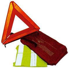 Gilet et triangle obligatoires A partir du 1er juillet 2008, explication vidéo
