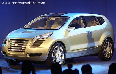Le GM Sequel, un 4x4 propre Nouveau champion de la voiture à PAC alimentée à l'hydrogène