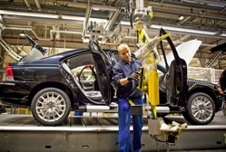 La dernière Volvo S60  Sortie de l'usine de Gand