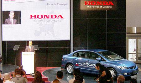 Plus de diesel et plus d'hybride chez Honda