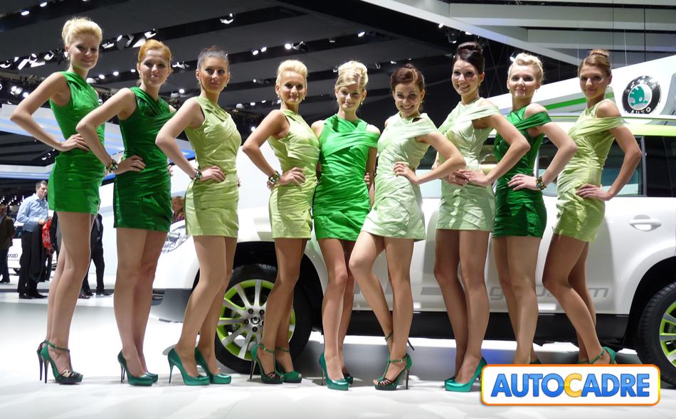 Les hôtesses belles et sexy du mondial auto de Paris 2010, comme si vous y étiez