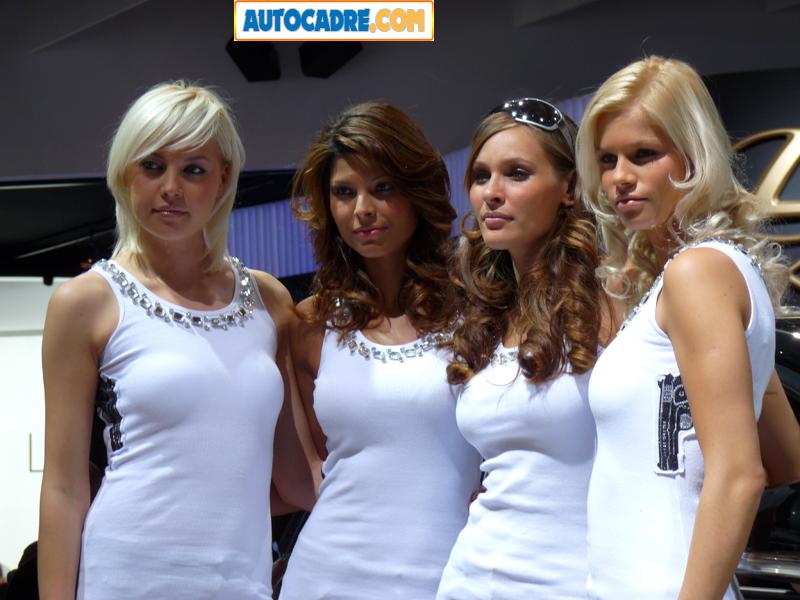 Les plus belles hôtesses du mondial automobile de Paris 2008 (Vidéo) 97 photos et 3 vidéos, comme si vous y étiez