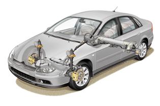Hydractive 3 de Citroën Article sur la suspension