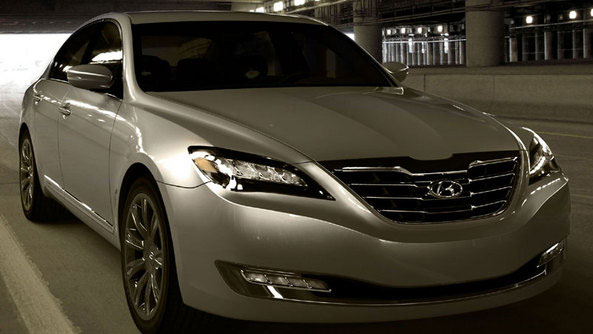 Concept Genesis Hyundai Une berline de luxe