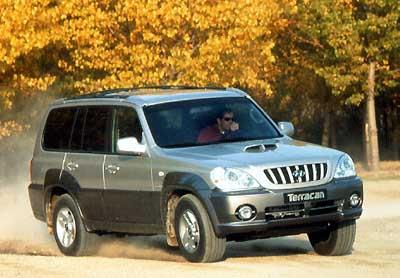 Hyundai Terracan 2.9 CRDi GLS Le diesel 2.9cc à rampe commune délivre un couple important
