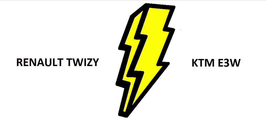 La Twizy et la E3W, concurrentes ? (video)
