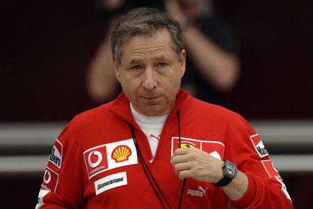 Jean Todt devient PDG de Ferrari Assisté par Michael Schumacher