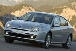 Renault Laguna berline 1.5 dCi Expression  Stratégie d'imposer un sentiment de robustesse