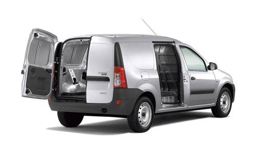 Logan Van la première fourgonnette de la marque Dacia