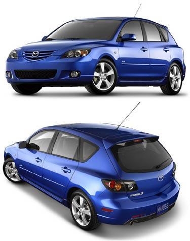 1 Mazda3 sur 10 rappelée pour cause d'essuie-glaces défectueux.