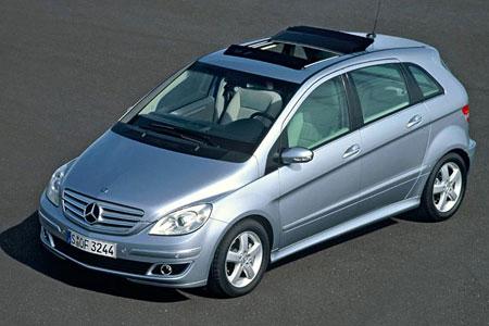 Mercedes Classe B La Classe B propose des motorisations essence modernes et des moteurs Diesel CDI