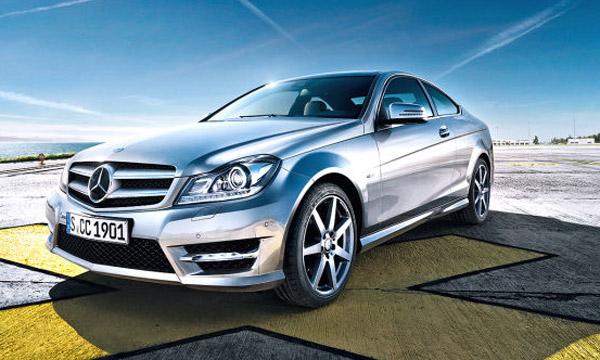 Nouvelle Mercedes Classe C coupé Les premières images