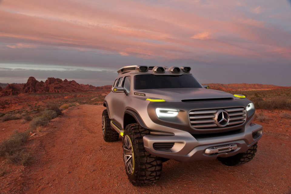 Salon de Los Angeles : Mercedes Ener-G-Force