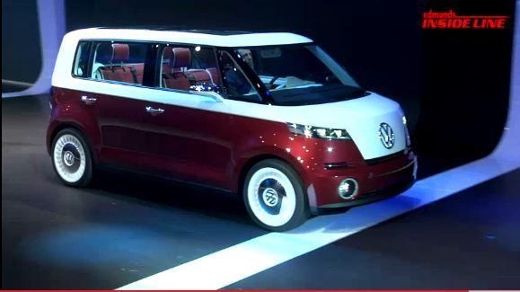 Microbus pour un monospace, au salon de Genève, Volkswagen nous présentait de nouveaux modèles de pr...